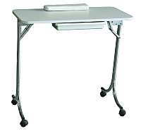 mindy  folding manicure table