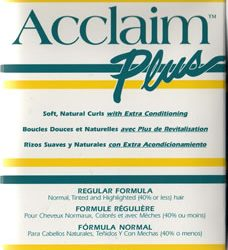 acclaim plus regular (single unit)