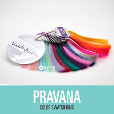 colour swatch ring pravana