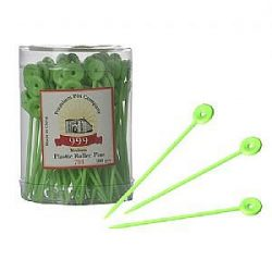 999 plastic roller pins green 100pc