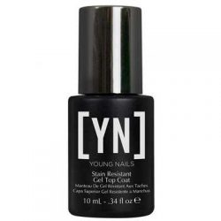 young nails stain resistant top coat 10ml