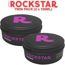 rockstar duo pack hard rock wax 100ml