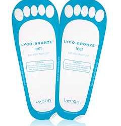 lyco bronze sticky feet pack of 50 pairs