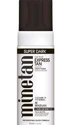 200ml super dark be brazilian bronzing foam mine tan